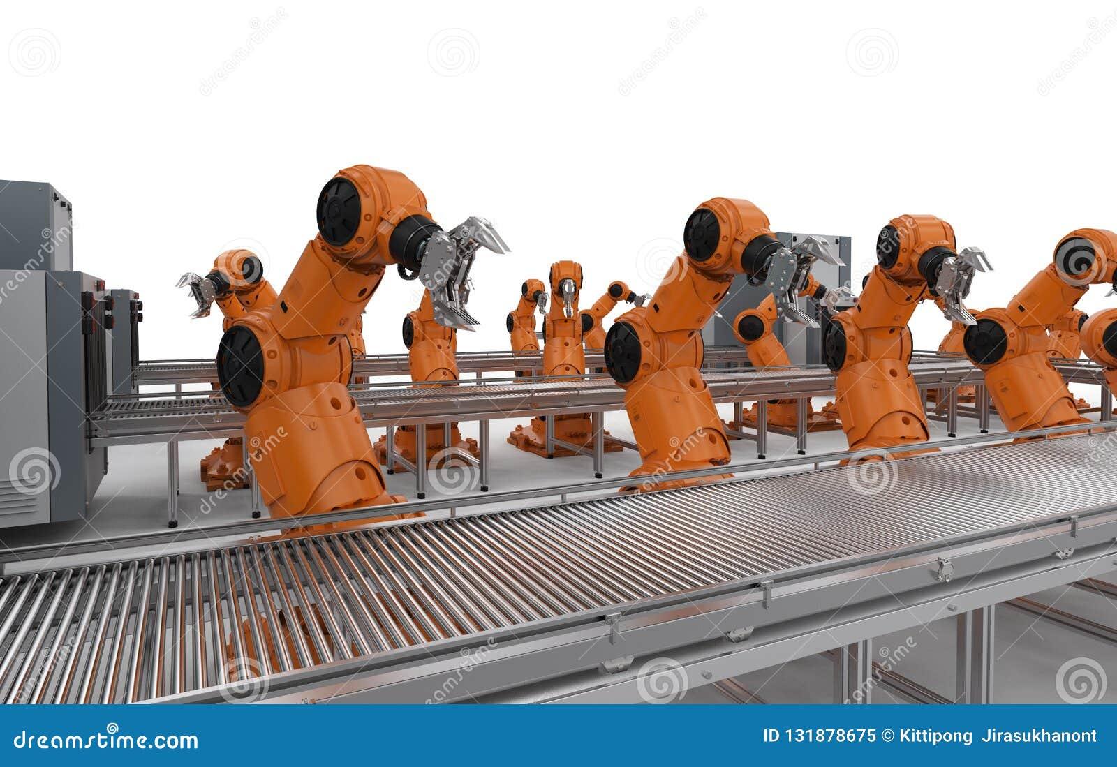 Robotlopende band