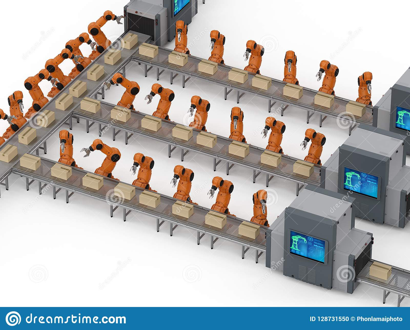 Robotmonteringsband