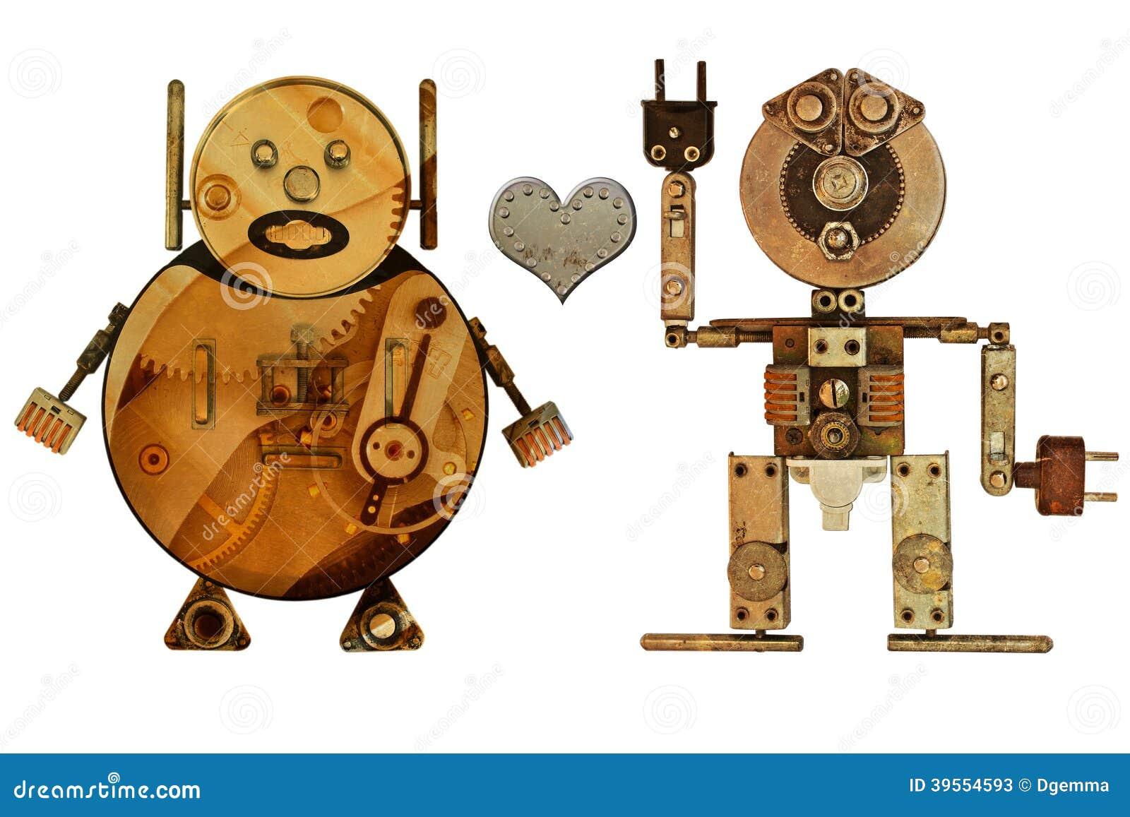 Robots de los amantes