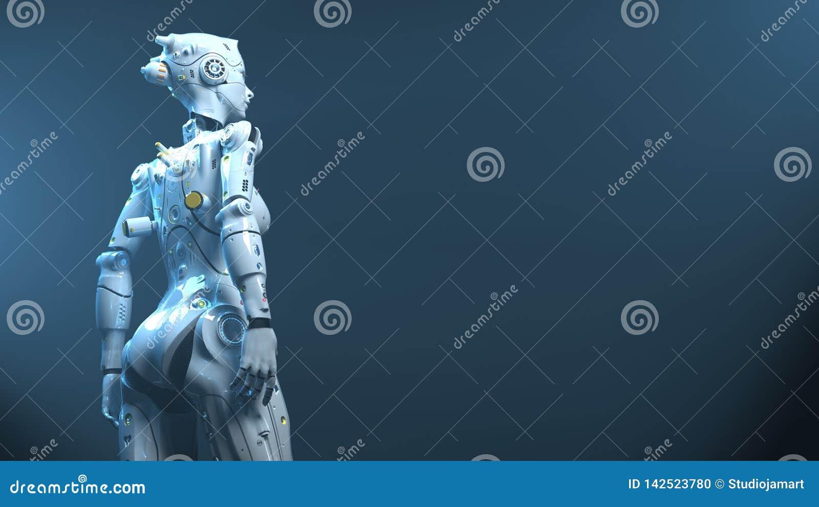 Robots del fi del sai del robot de la tecnología