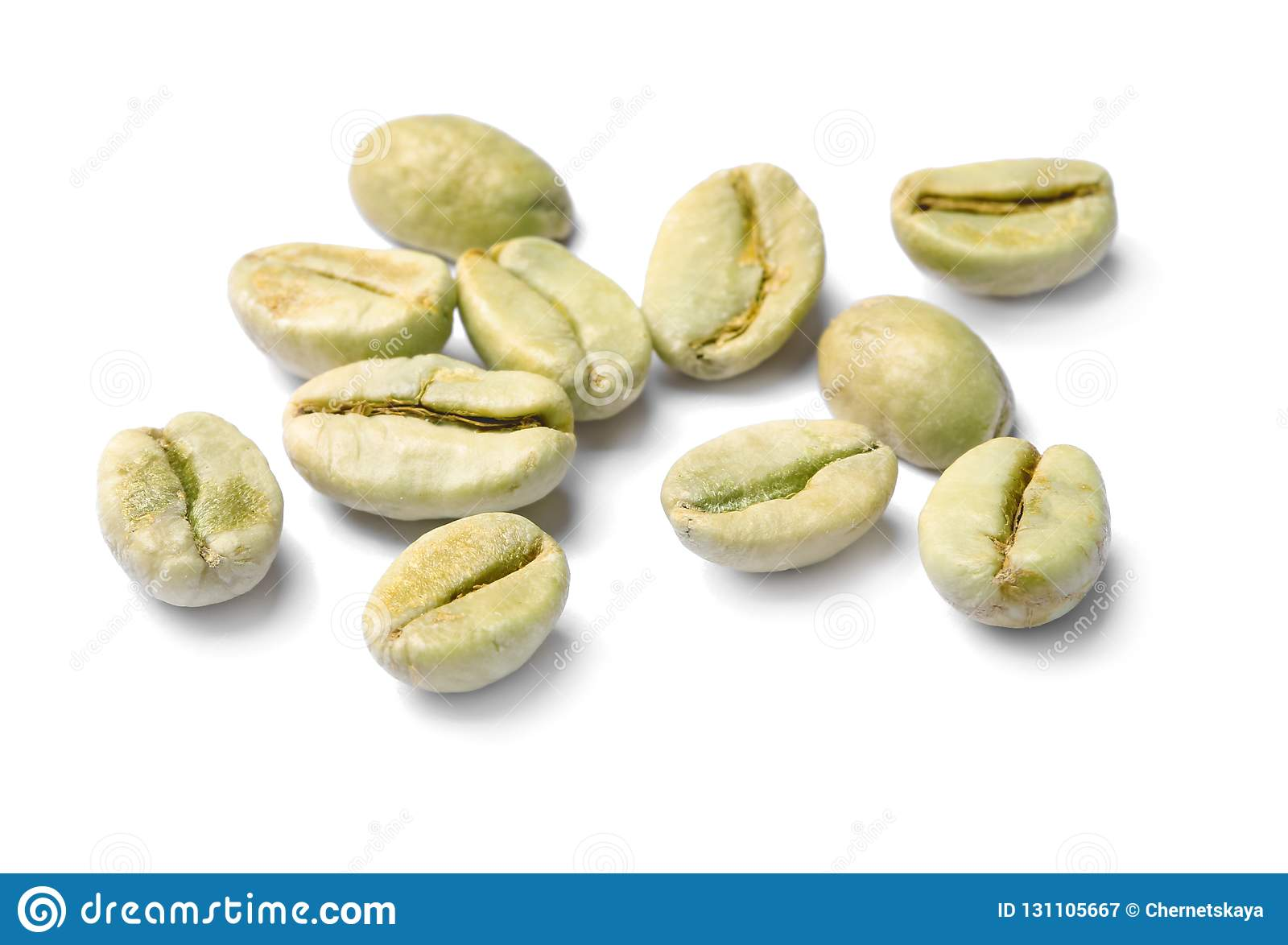 Robusta green coffee beans