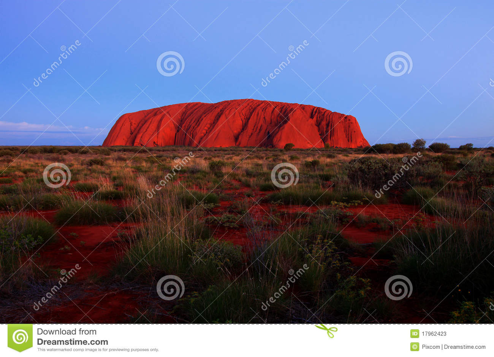 Roca de Ayers - Uluru