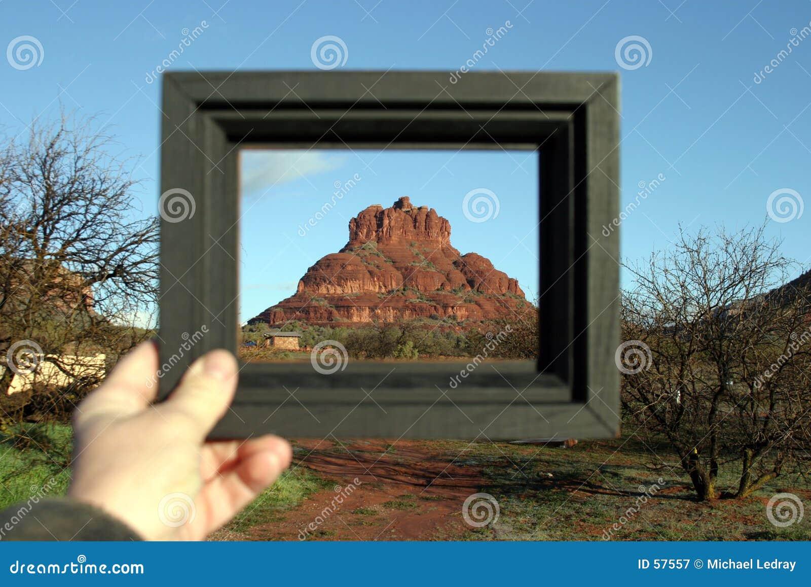 Roca de Bell enmarcada