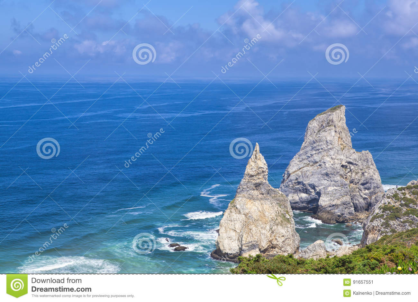 Roca de Cabo DA, le point occidental