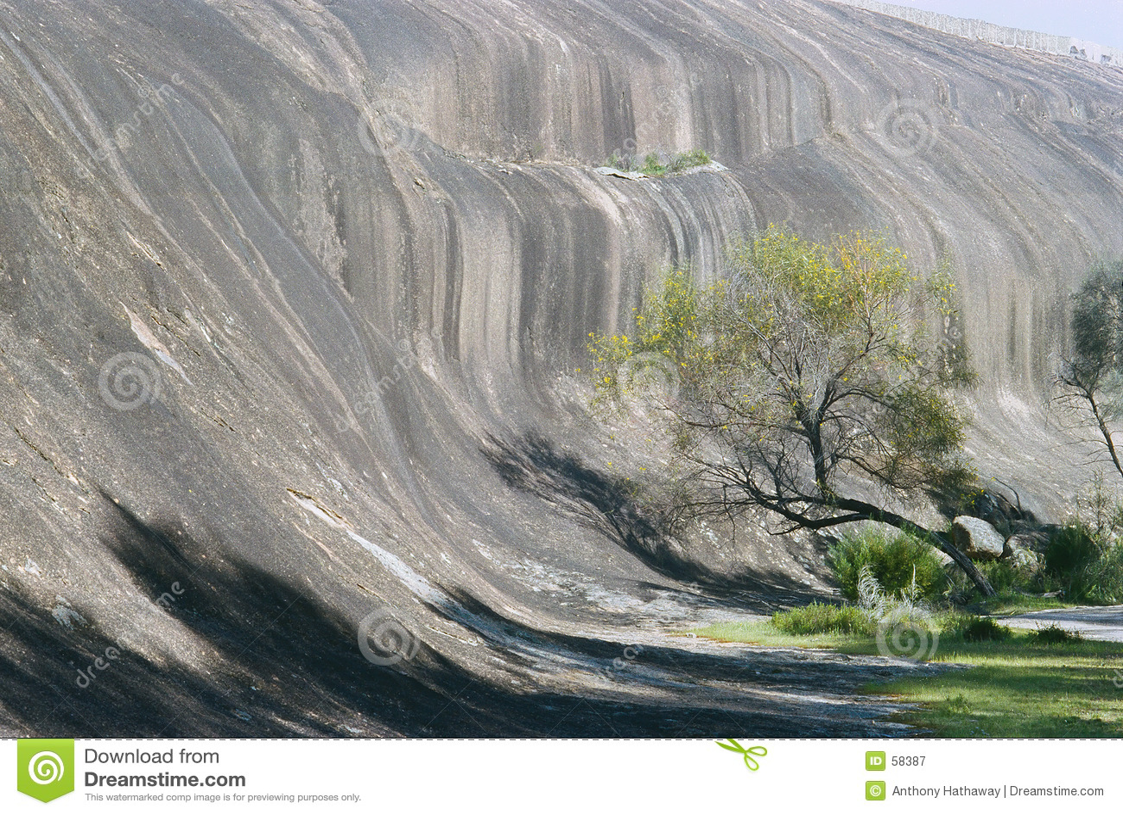 Roca de la onda