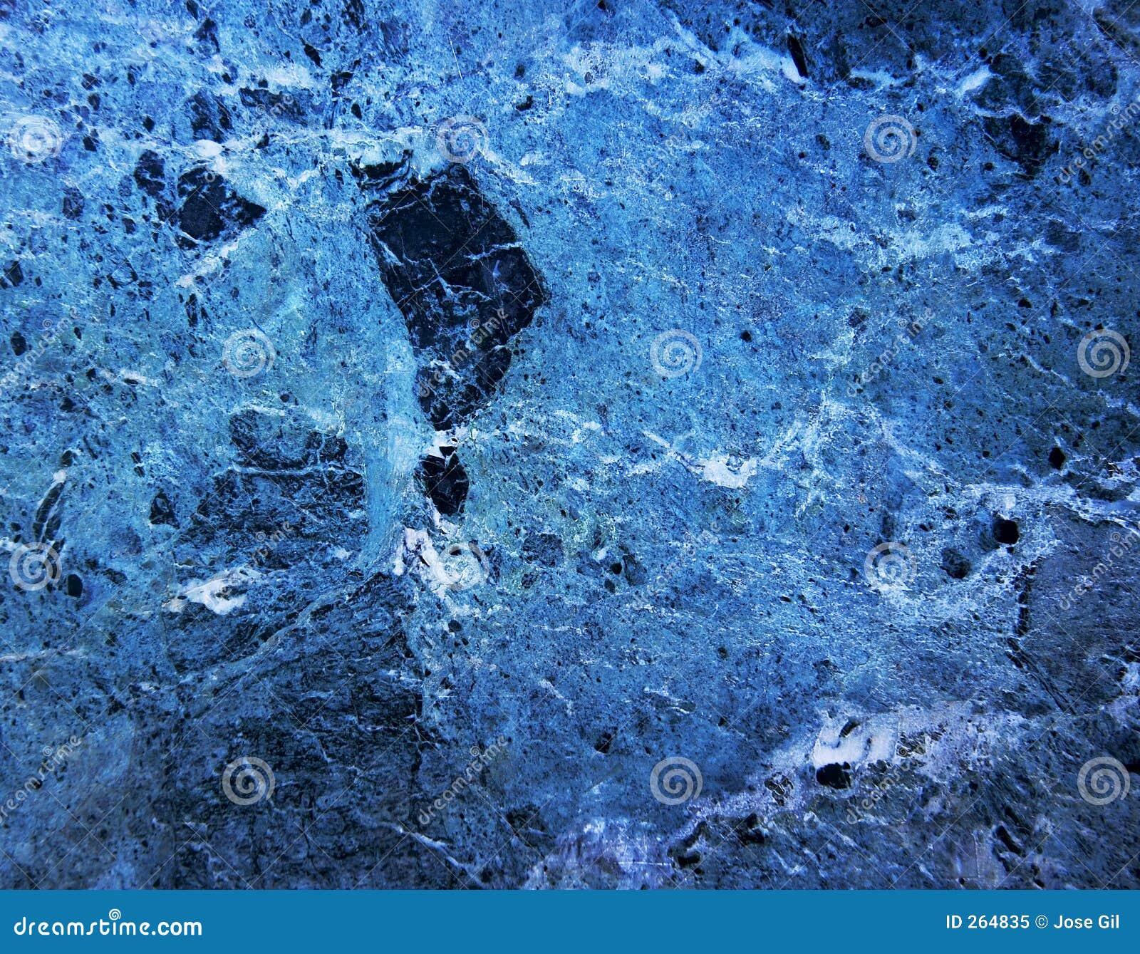 Roca de m rmol azul foto de archivo libre de regal as for Roca marmol
