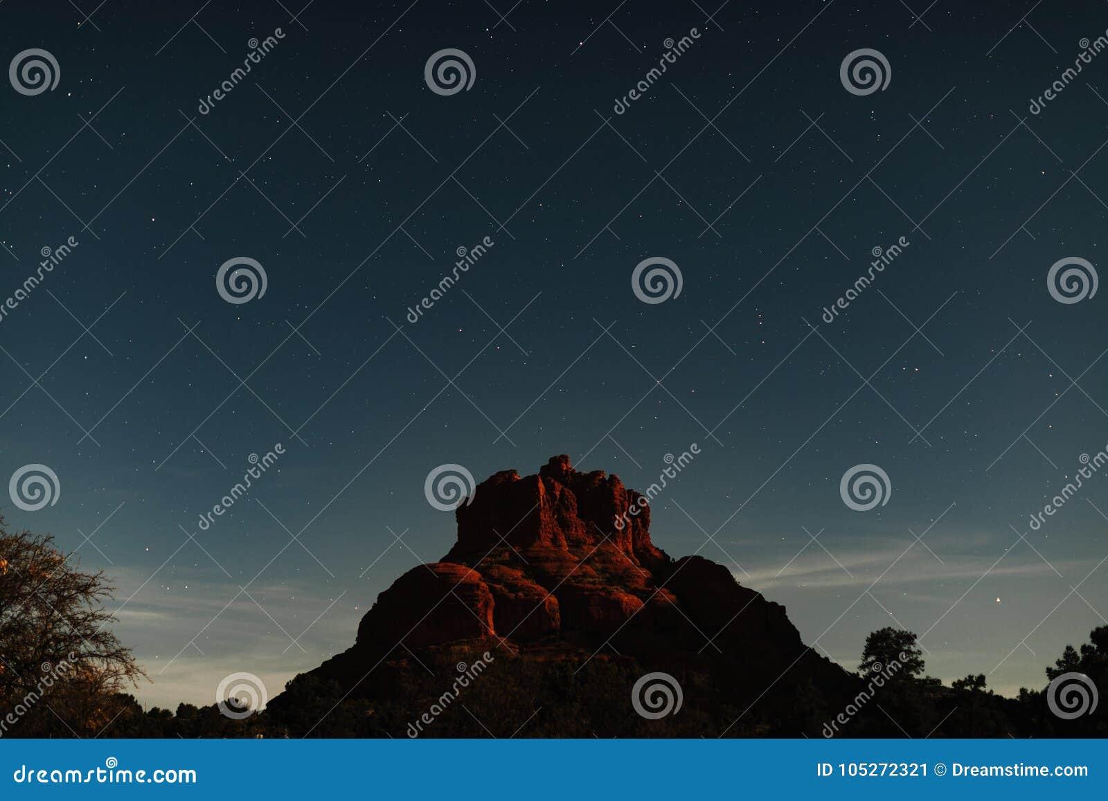 Roca estupenda de Bell de la luna de la fotografía astronómica