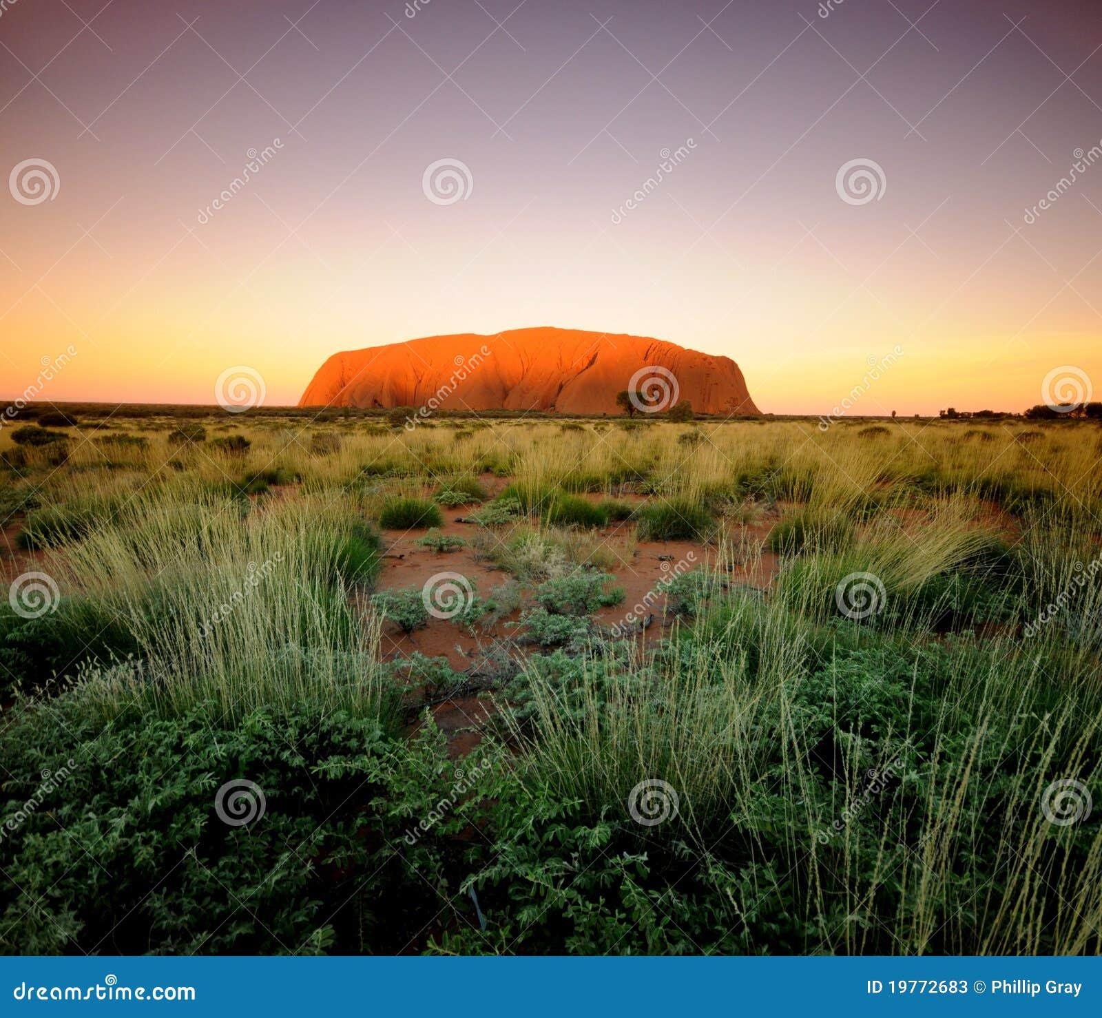 Roca Uluru de Ayres