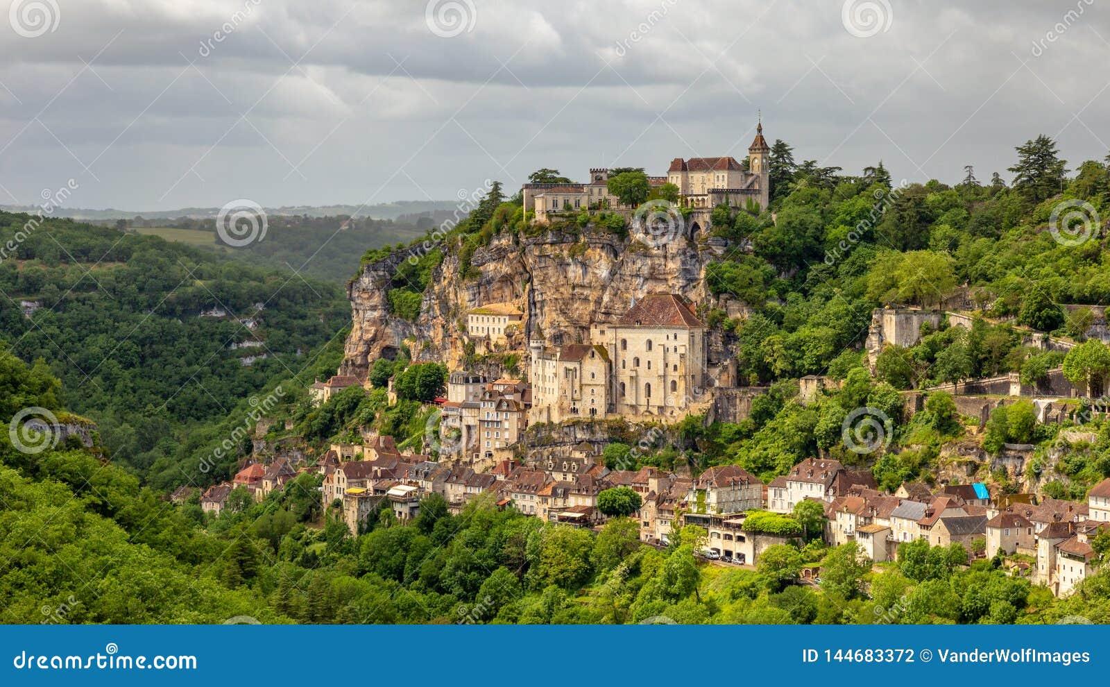 Rocamadour Provence, Frankrike