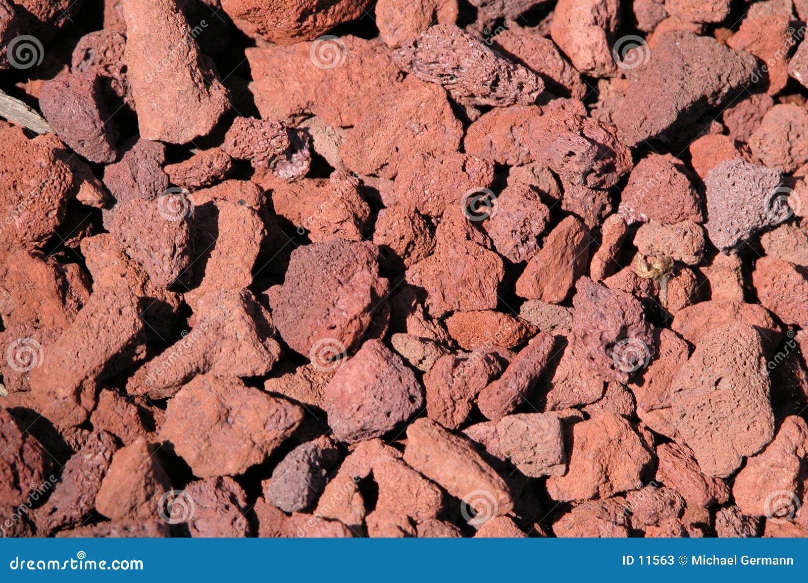 Rocas de la lava