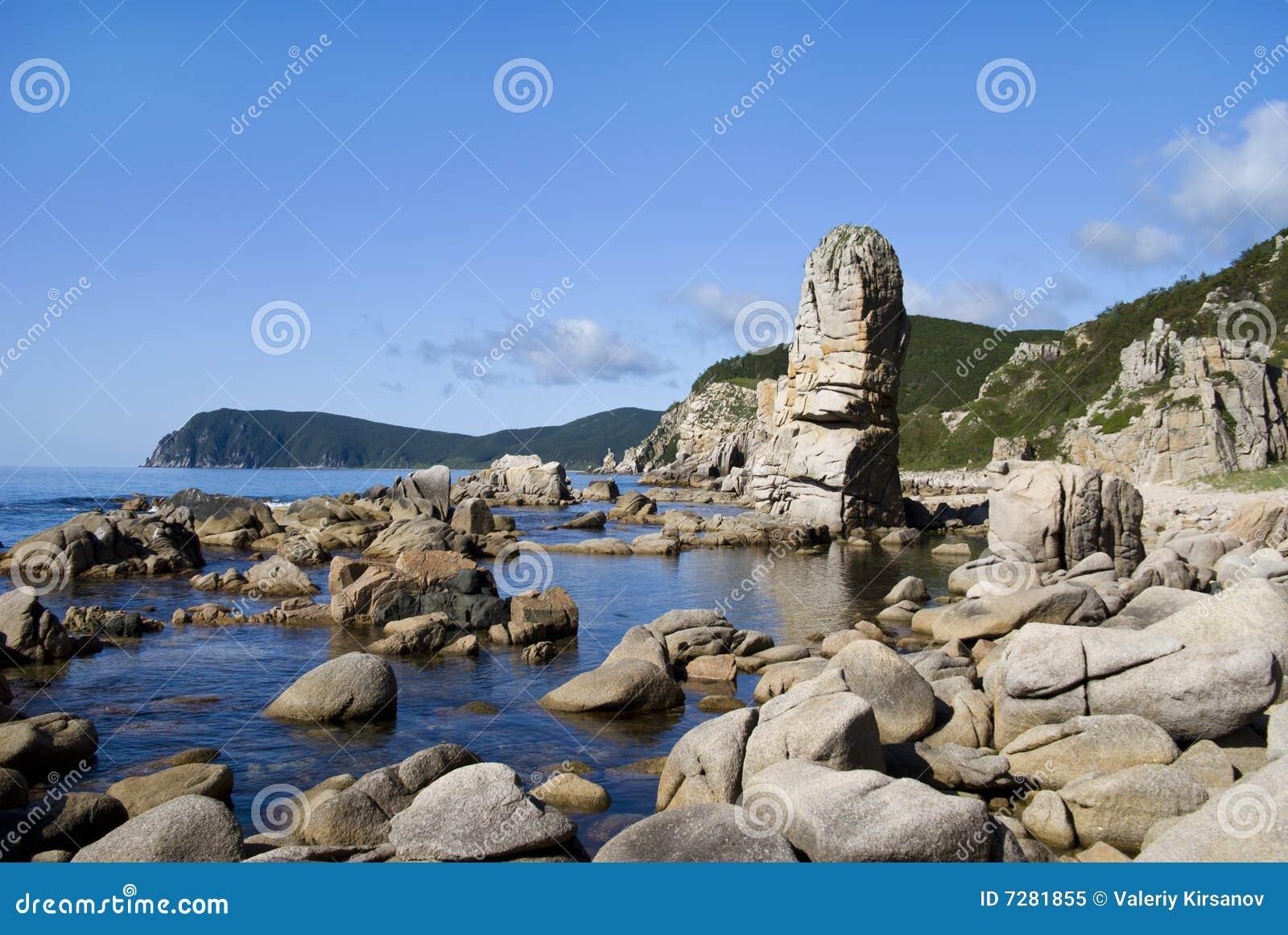Rocas en el mar 1