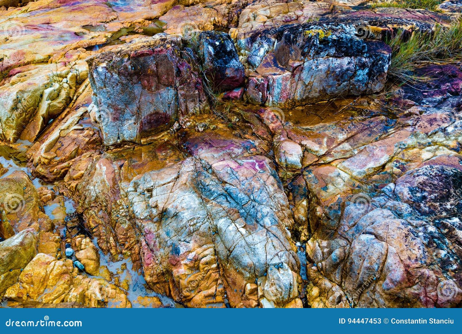 Rocce Colourful
