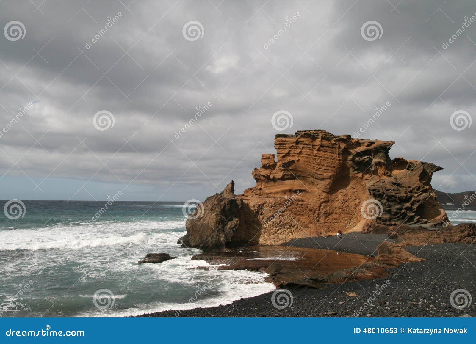 Rocce su una spiaggia