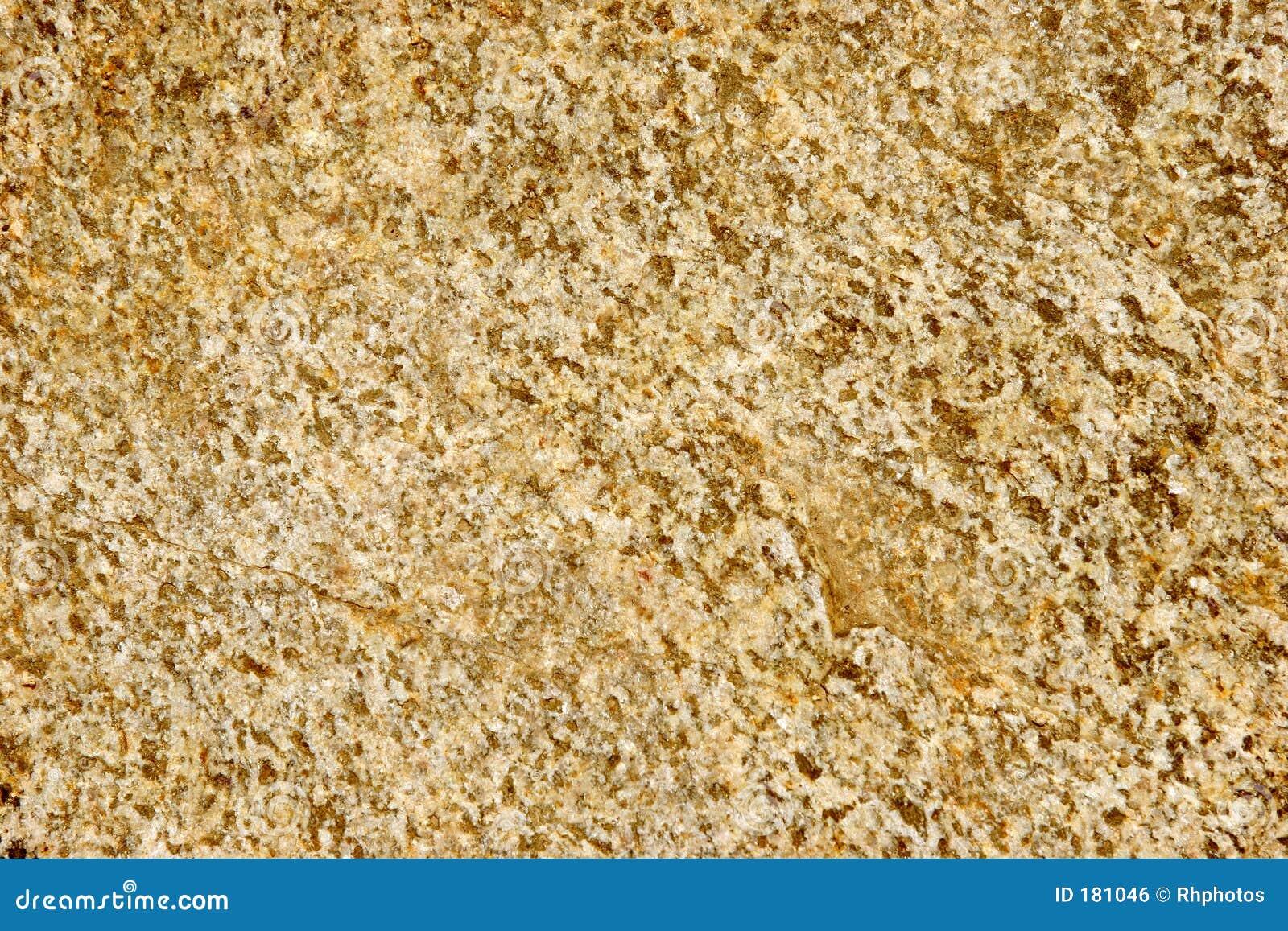 Roccia macchiata dell oro