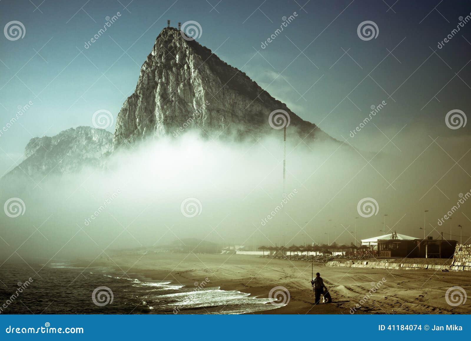 A rocha de Gibraltar