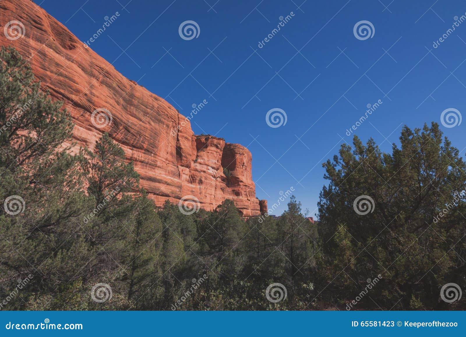 Rocha vermelha Cliff Landscape