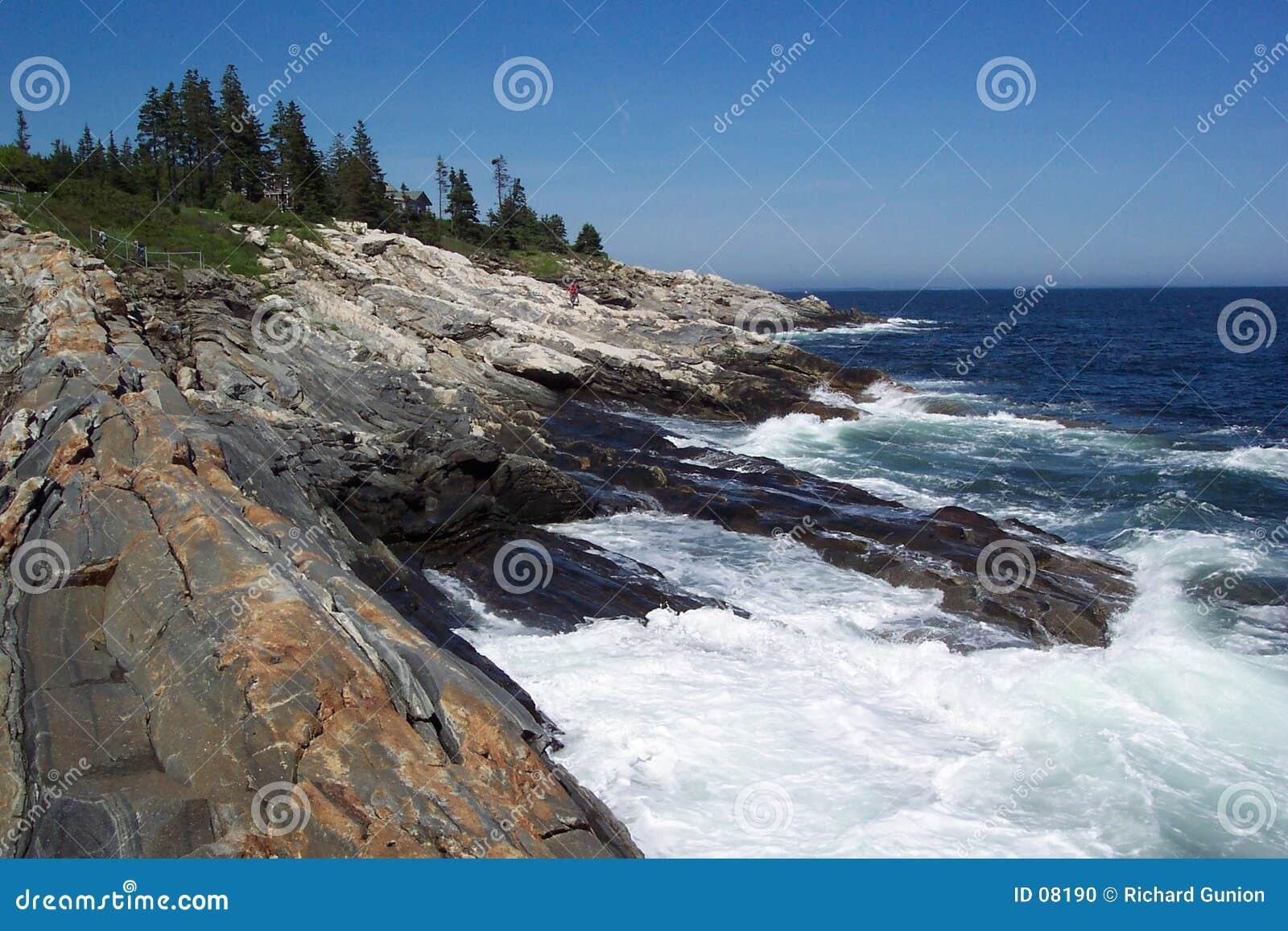 Rochas de Pemaquid