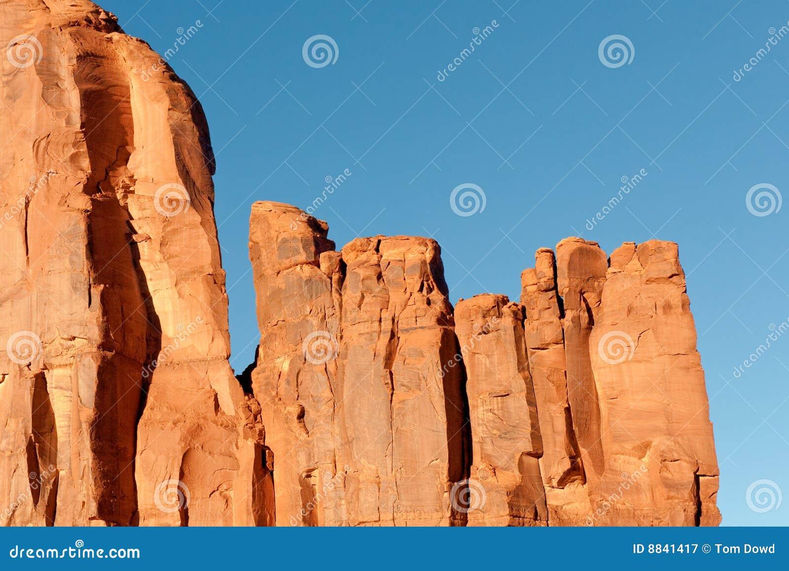 Rochas do vale do monumento