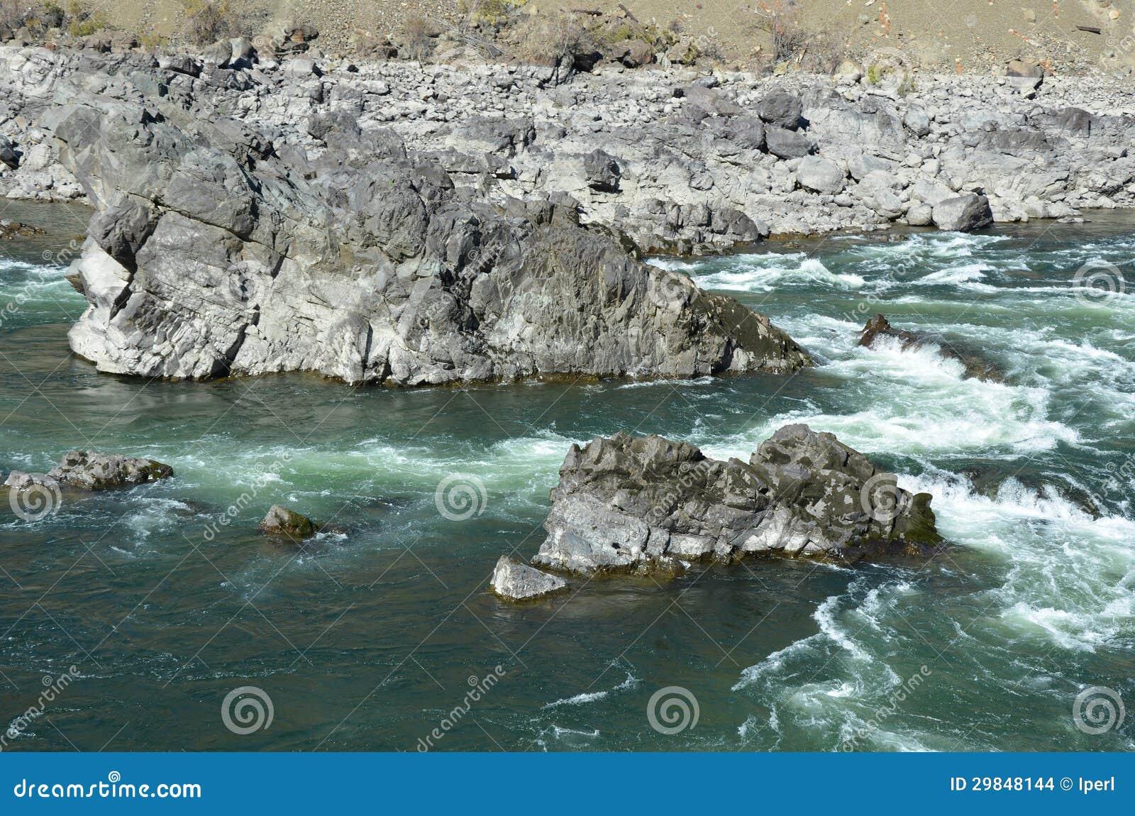 Rochas e rapids