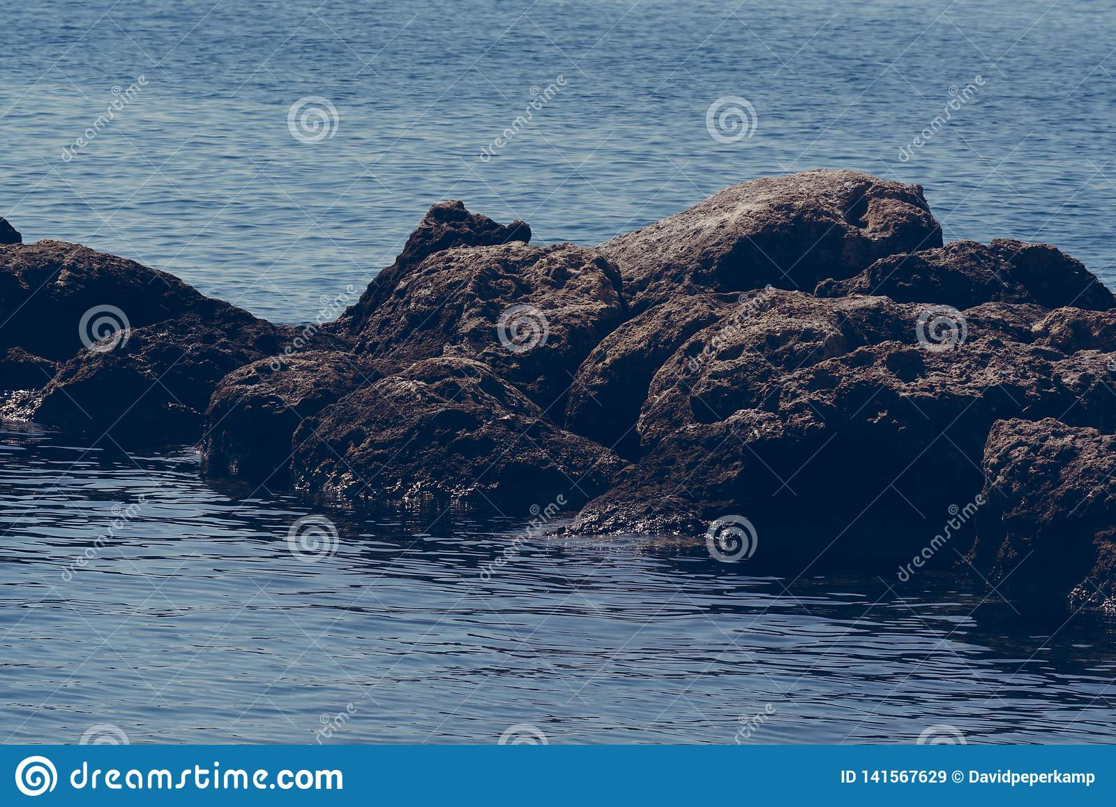 Rochas no mar, Creta Grécia