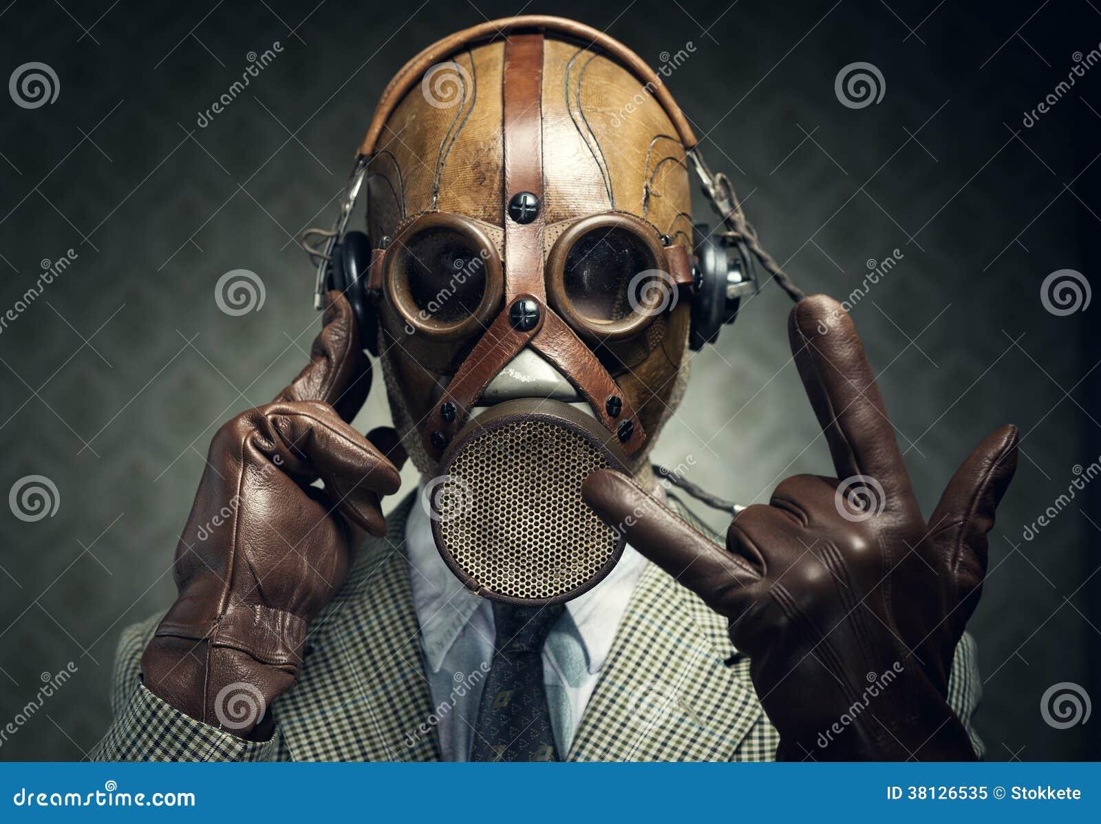 Roche de masque de gaz