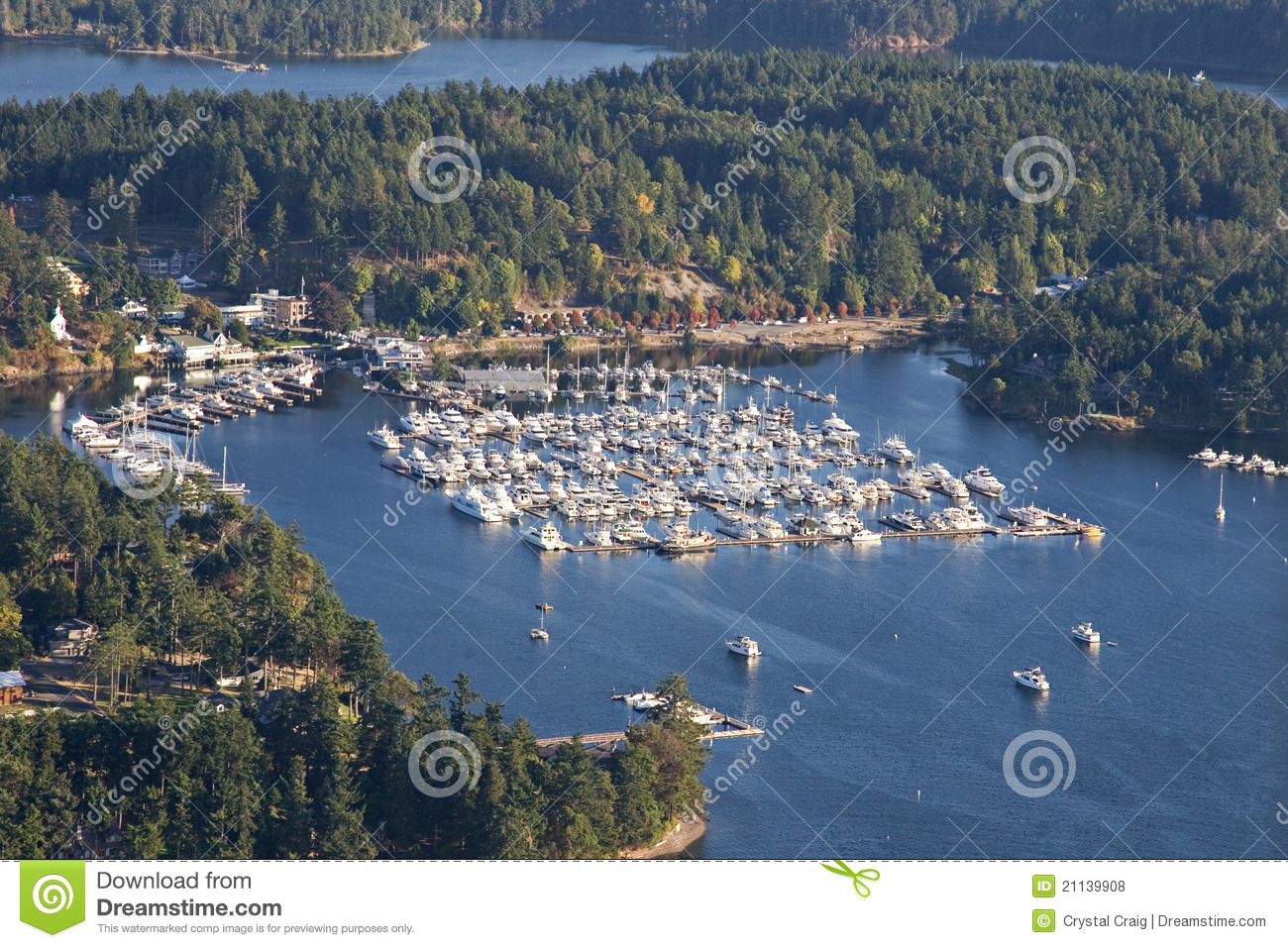 roche harbor san juan islands washington stock photo - image of