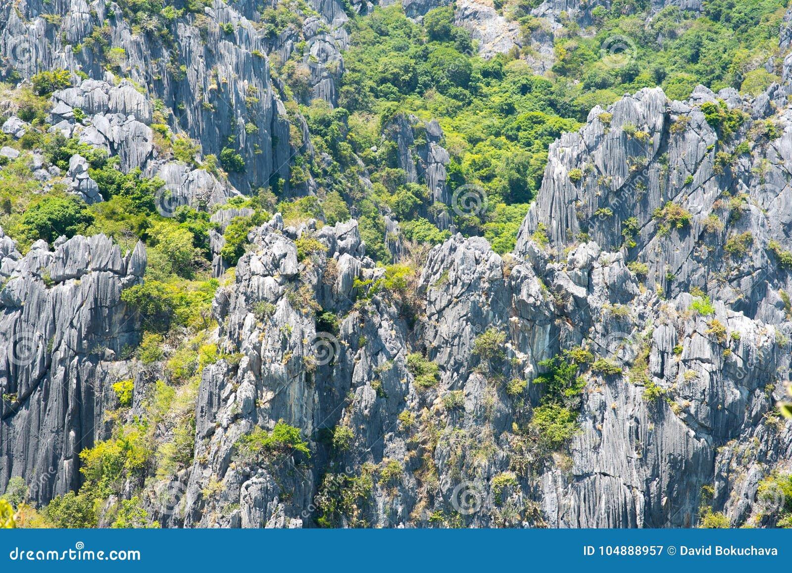 Roches de Khao Sam Roi Yot National Park