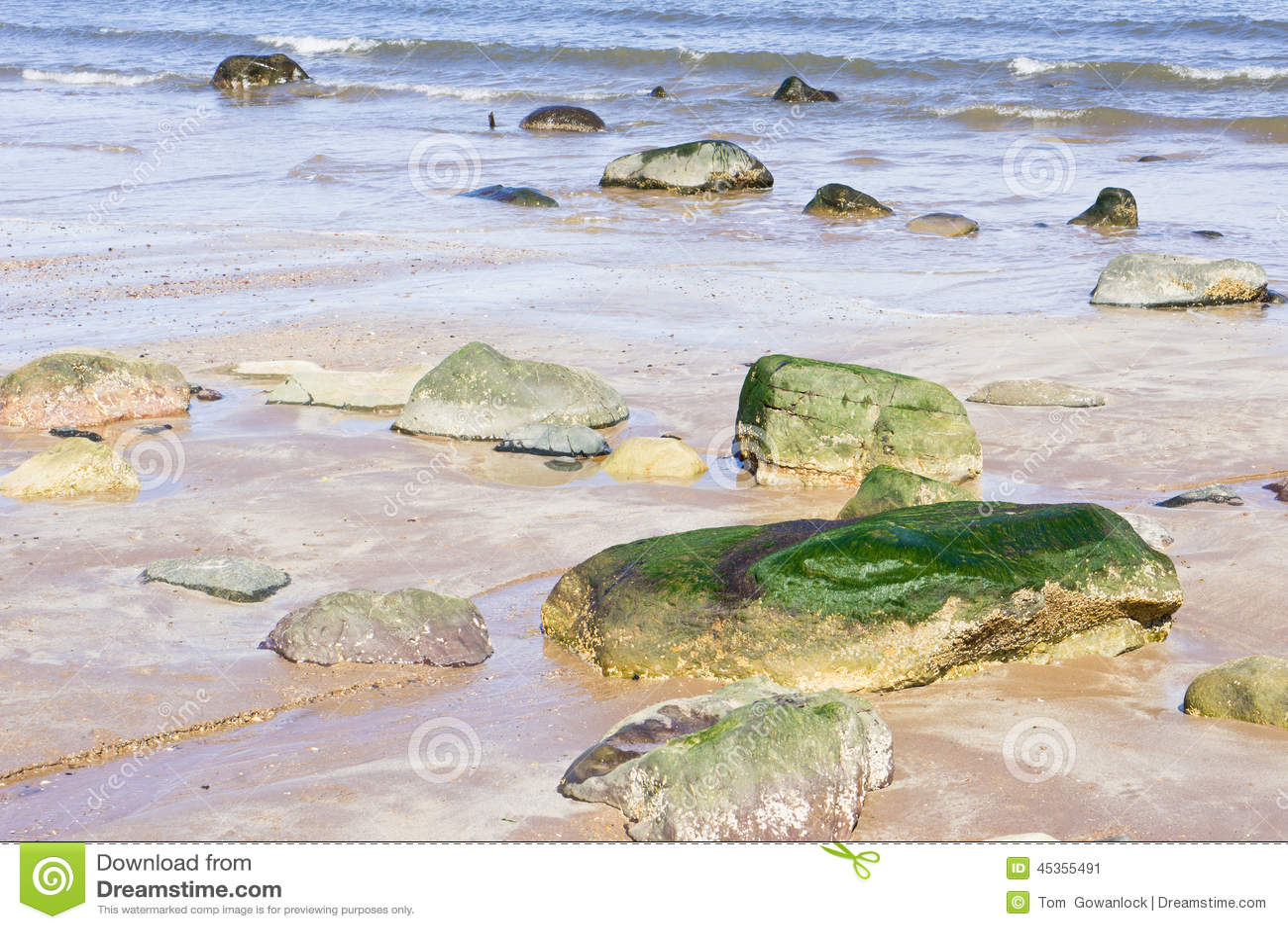 Roches de plage