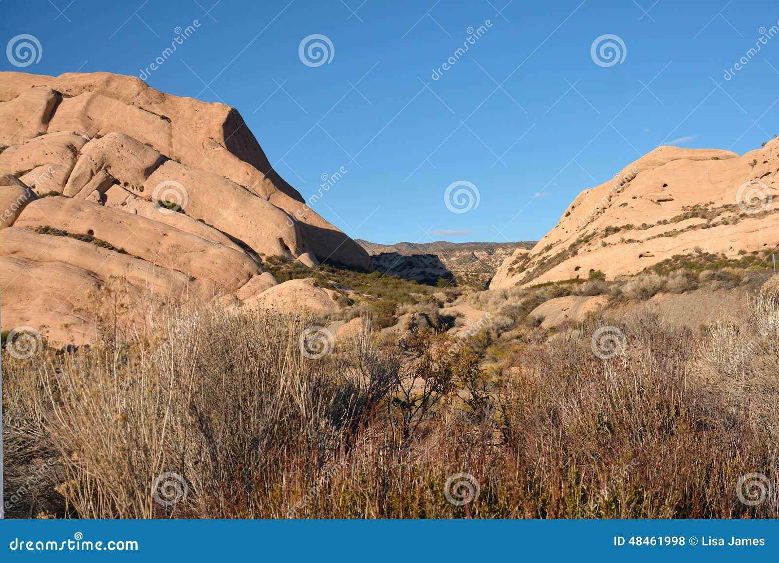Roches mormones en Californie