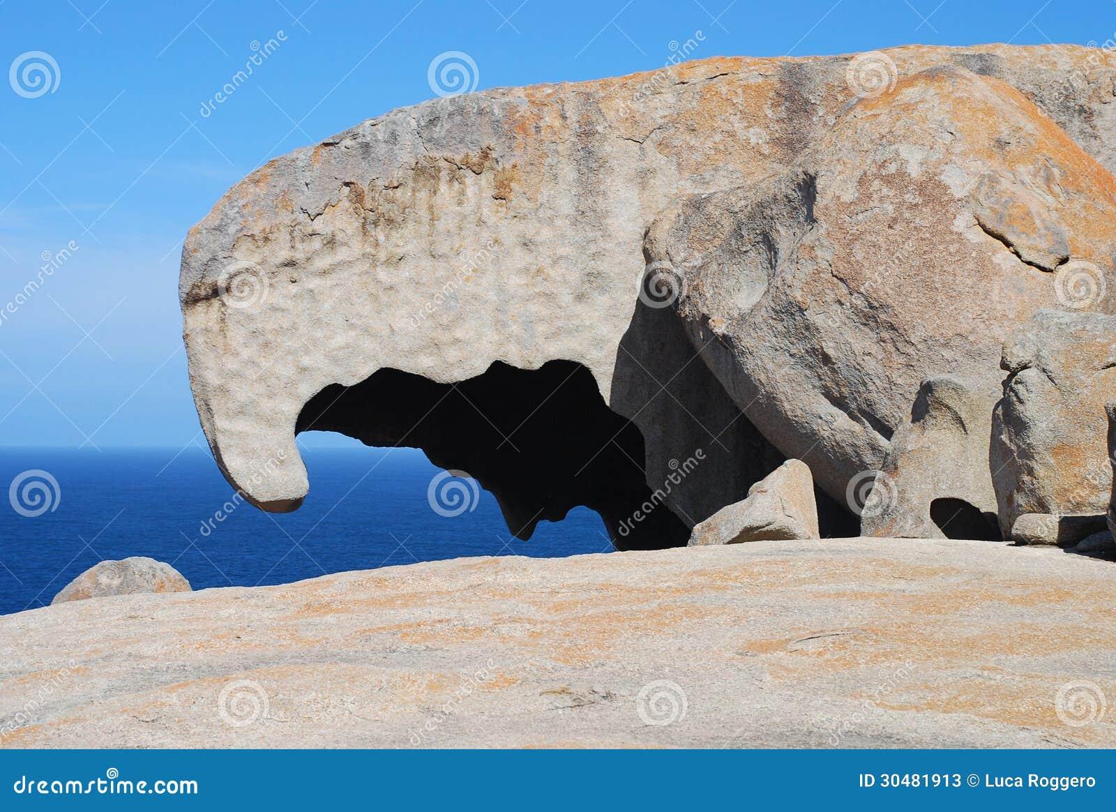 Roches remarquables, île de kangourou, Australie
