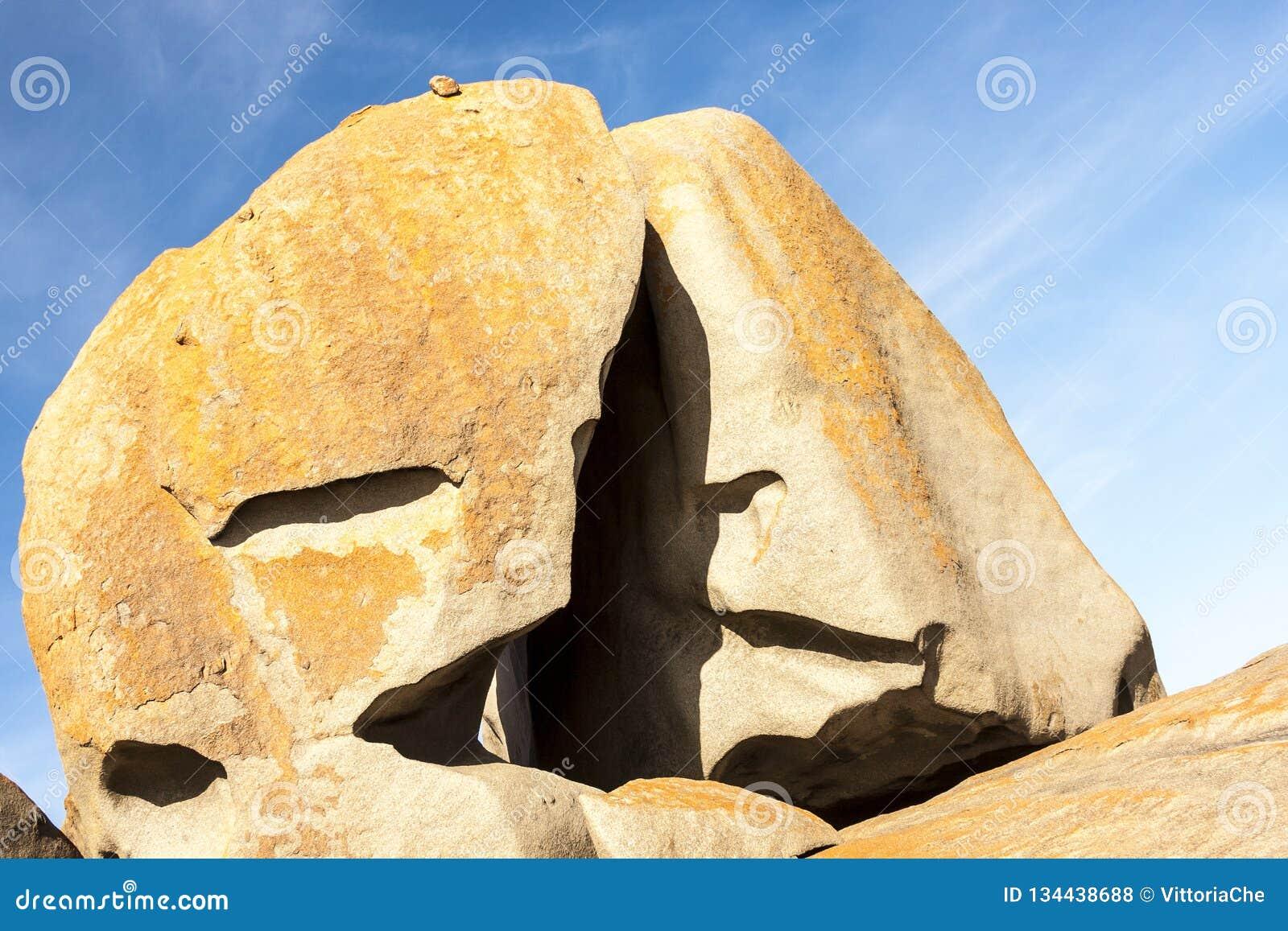 Roches remarquables, île de kangourou, parc national de la chasse de Flinder, Australie du sud