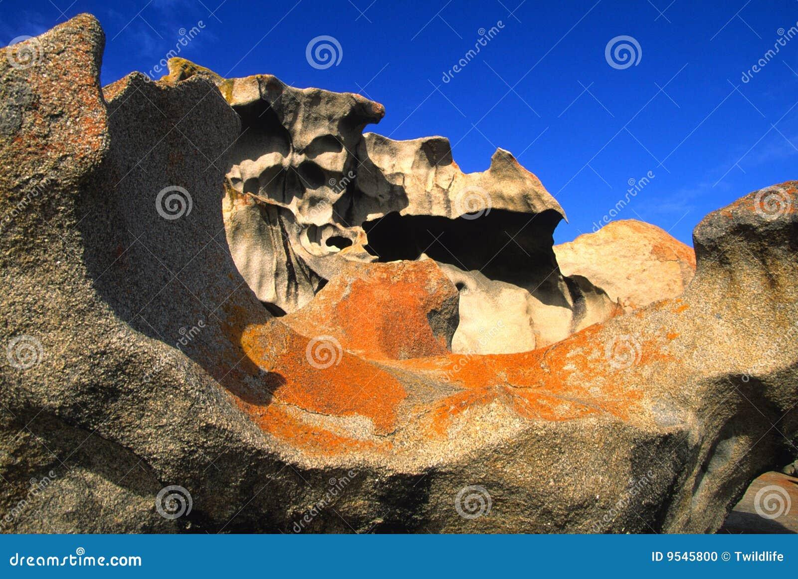 Roches remarquables de formation de l australie