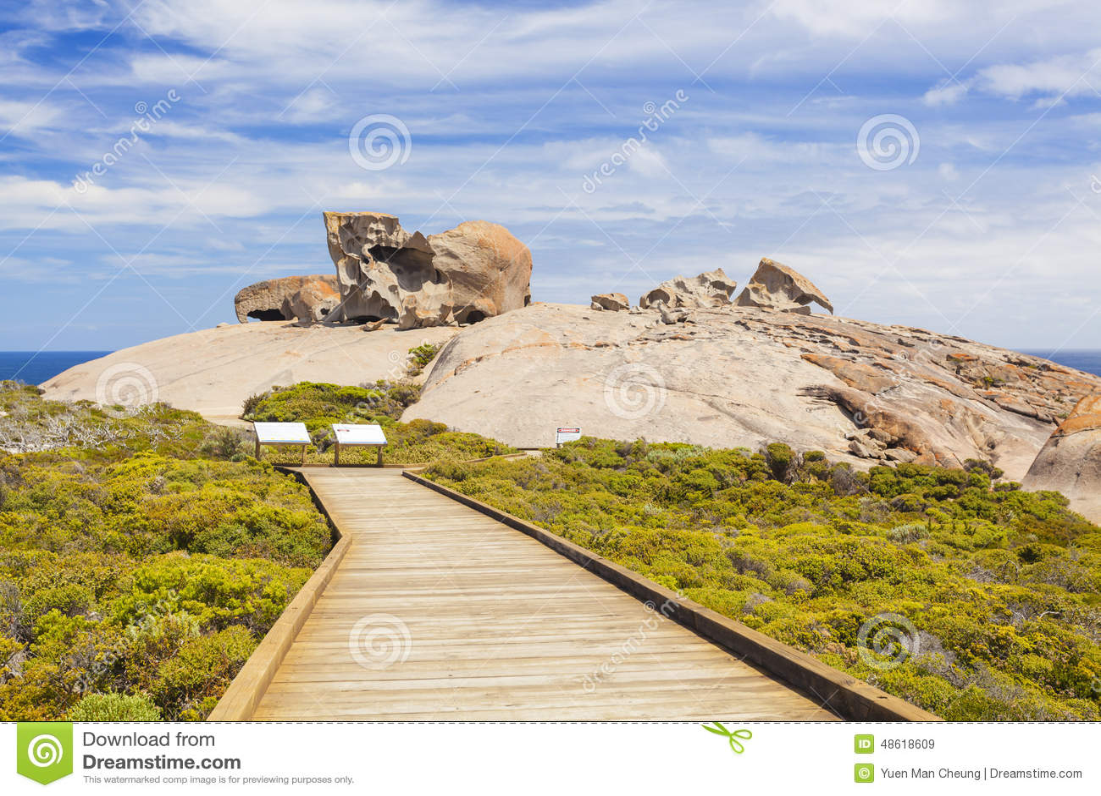 Roches remarquables sur l île de kangourou, Australie du sud