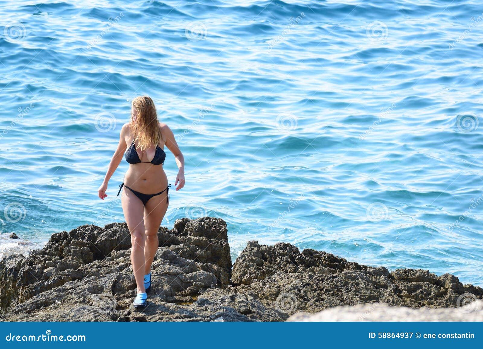 Rocheux blond de plage