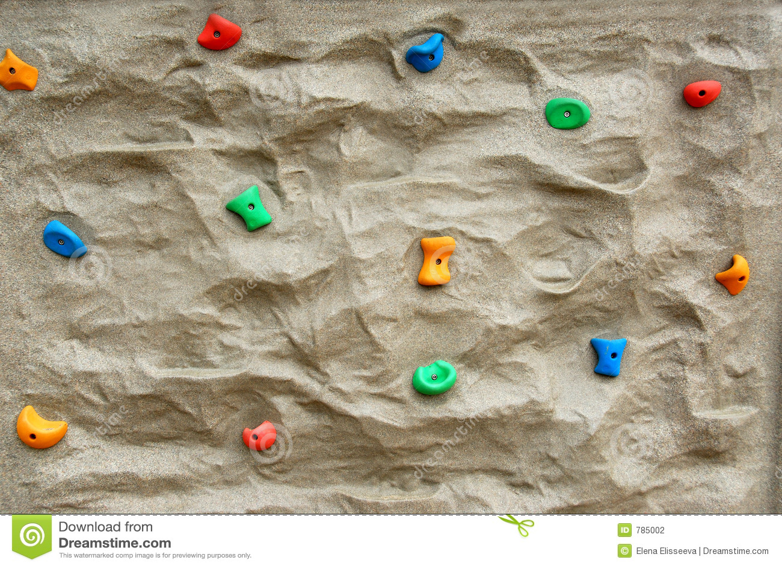 Rock climbing wall stock photo. Image of exercise ...