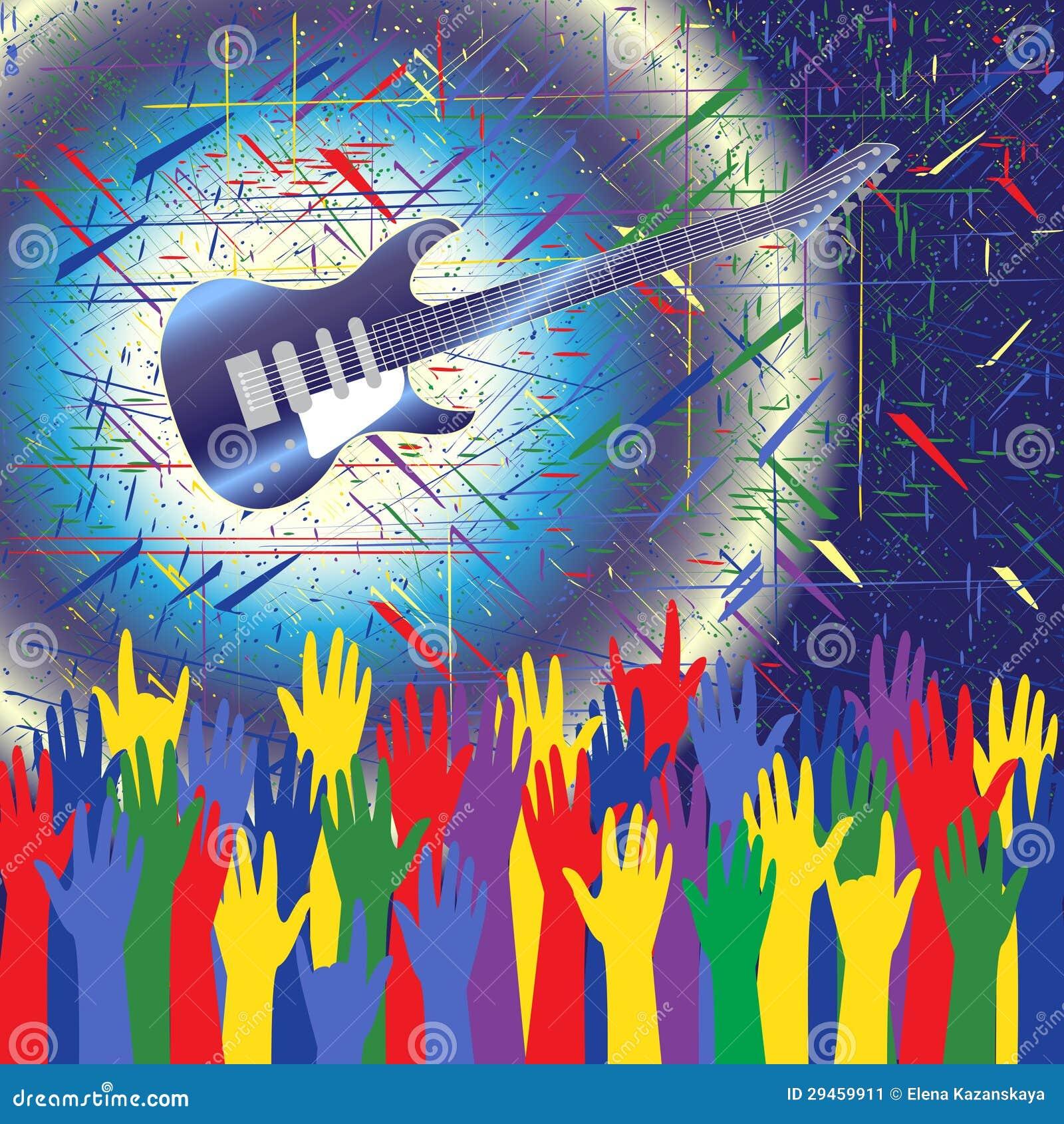 Pics photos rock concert background - Background Concert Guitar Hands Rock