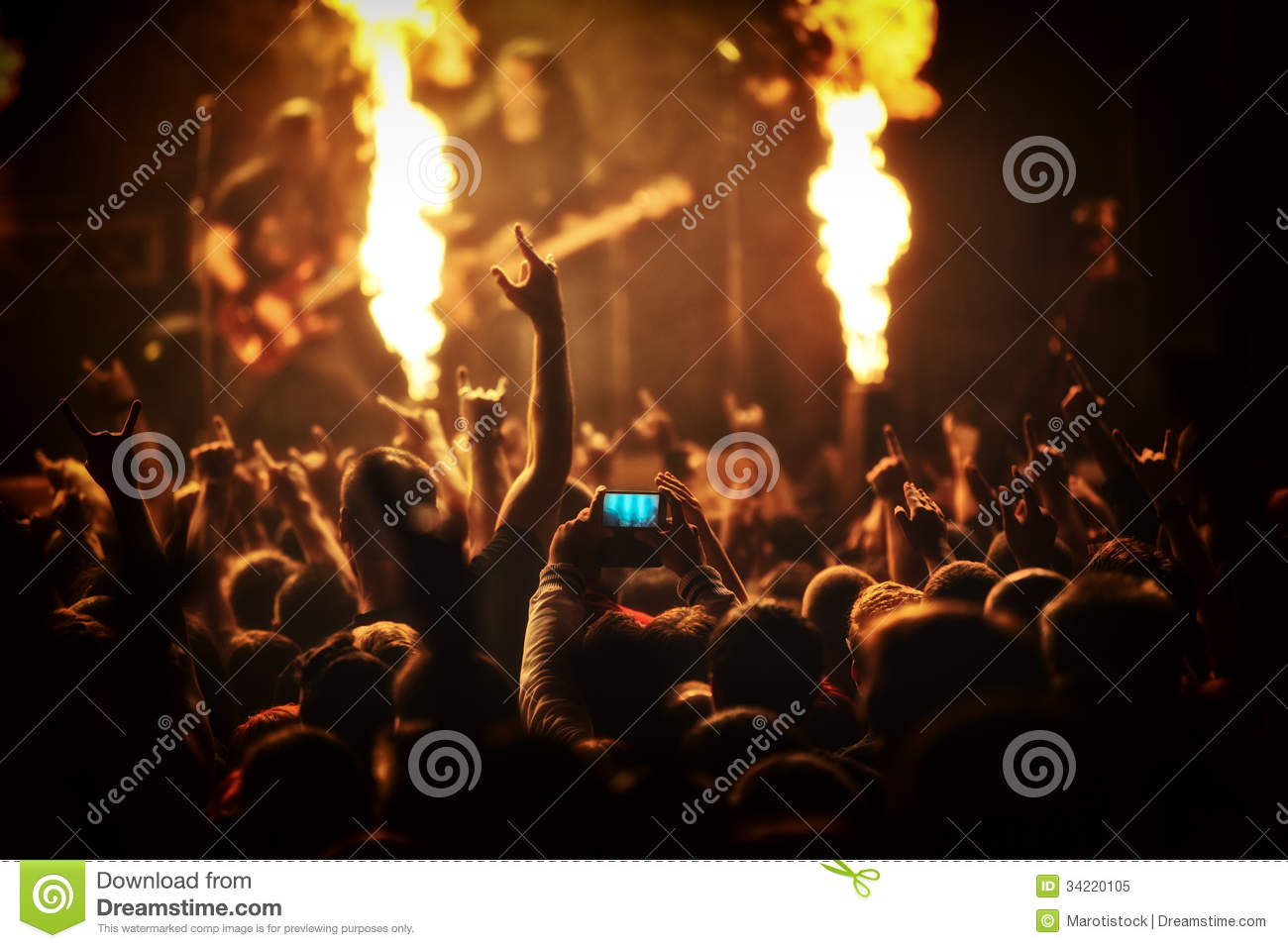 Rock Concert Photography