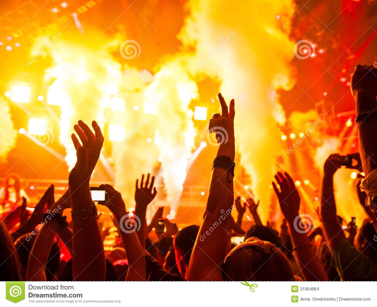 Rock concert stock photo image of people active for 1234 get on the dance floor songs download