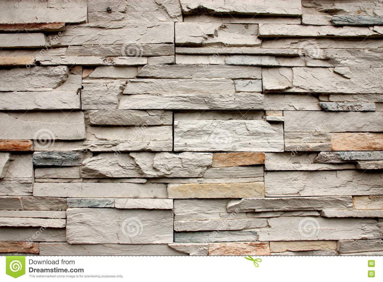 Decorative Wall Stone : Rock decorative wall stock image of house