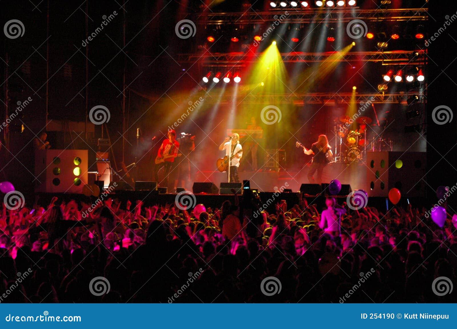 Rock för 3 konsert