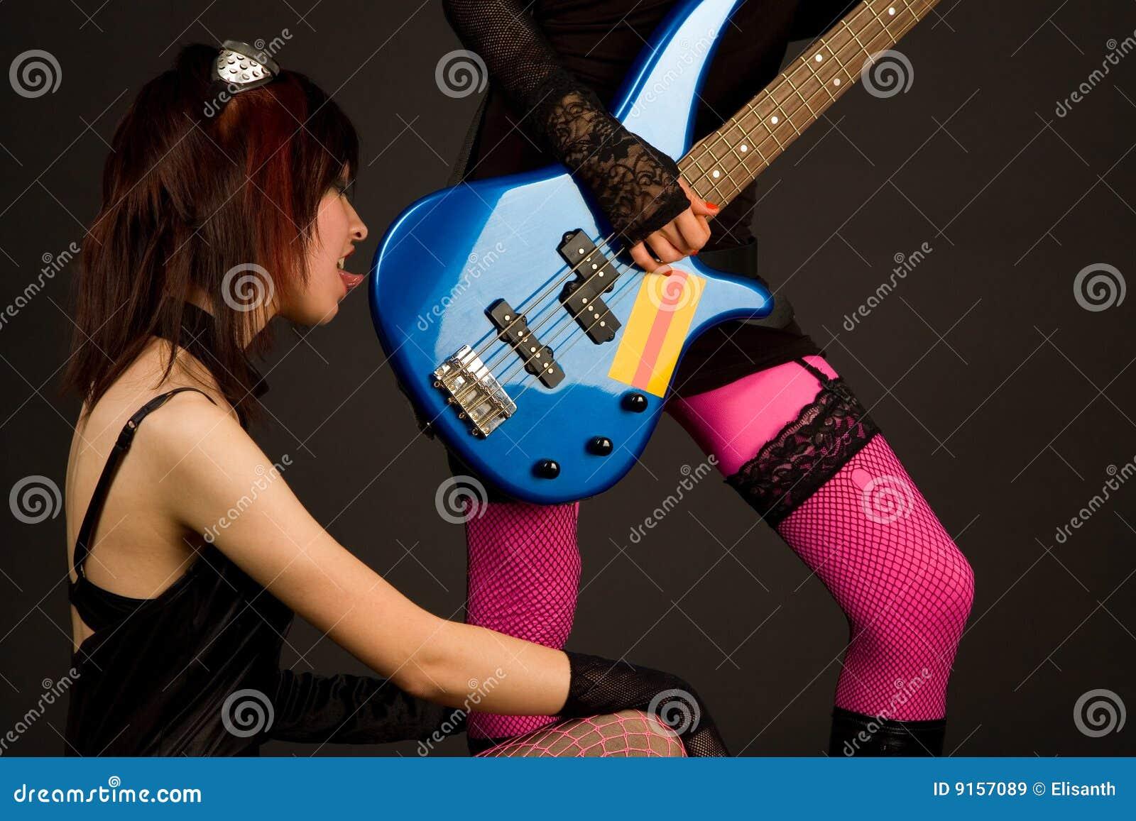 Guitarist lick read