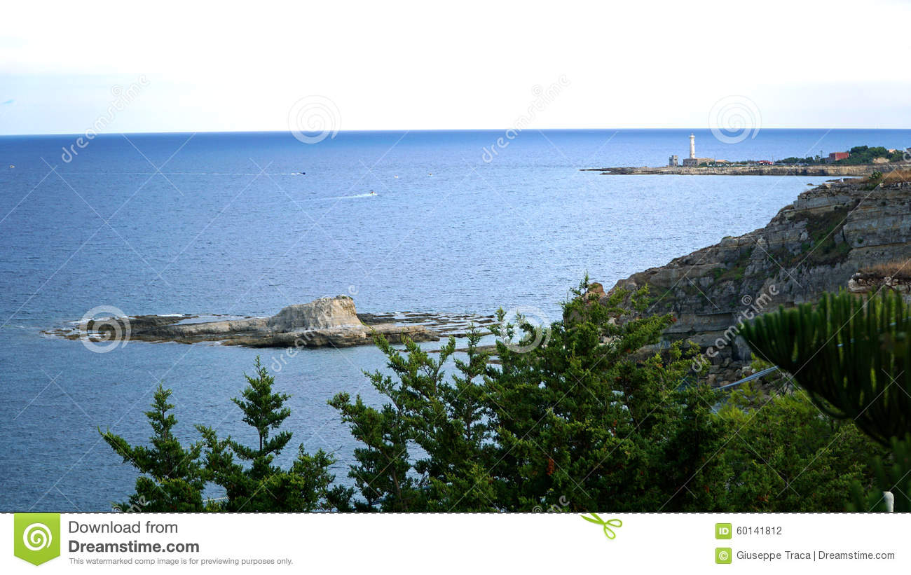 The rock and the lighthouse stock photo image 60141812 for Landscaping rocks augusta ga