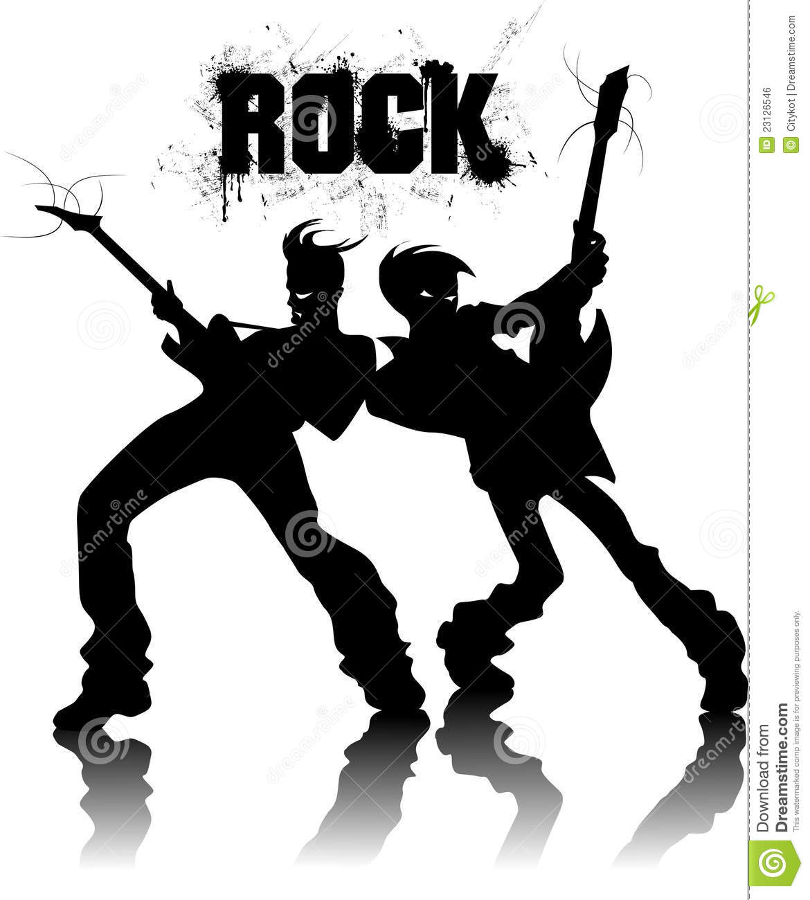 Metal Band Silhouette Metal Band Silhouette Rock Band Silhouette