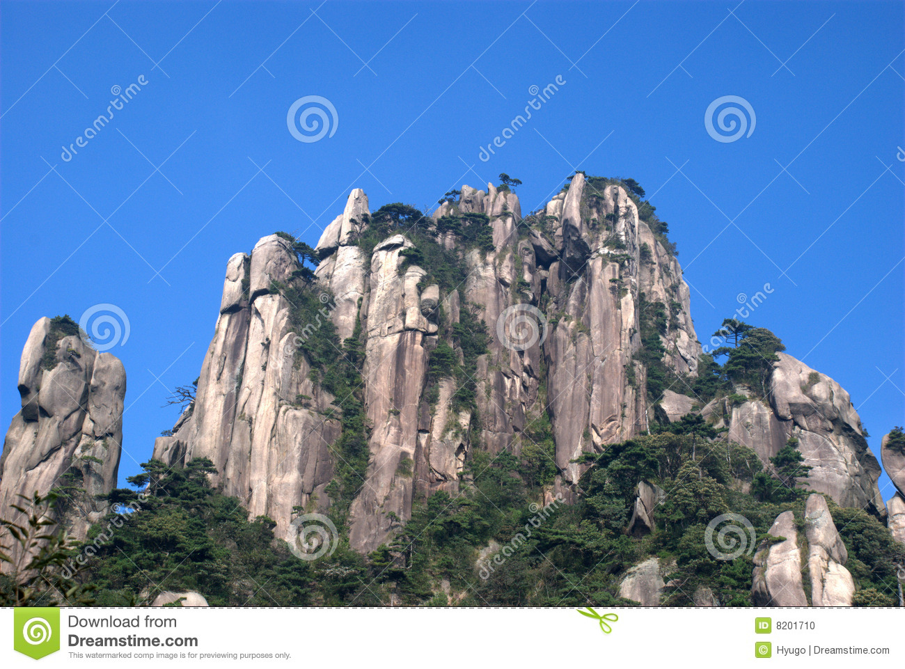 rock mountain and sky stock photo image 8201710