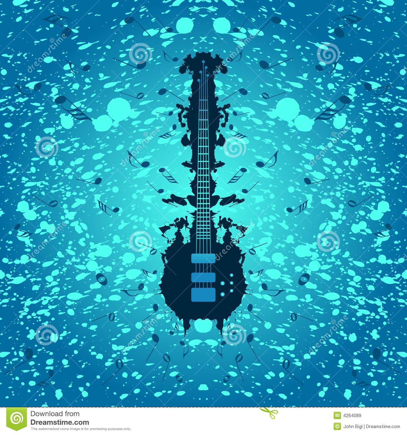 Rock Music Background - Bass Guitar Royalty Free Stock Images ...