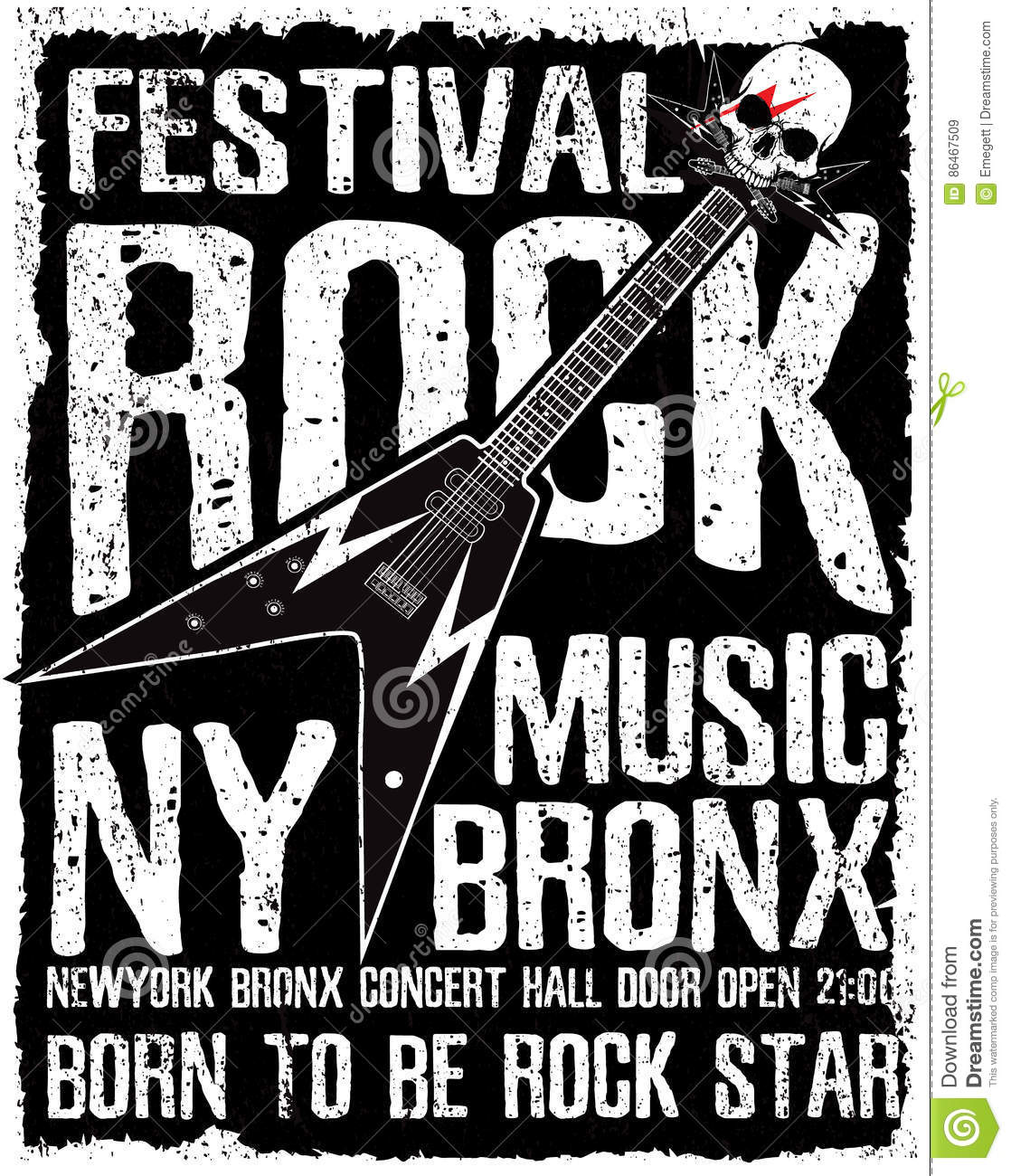 rock poster vintage rock and roll typographic for t shirt tee