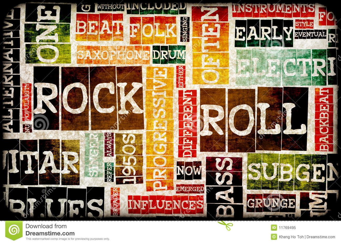 Rock And Roll Royalty Free Stock Photo - Image: 11769495