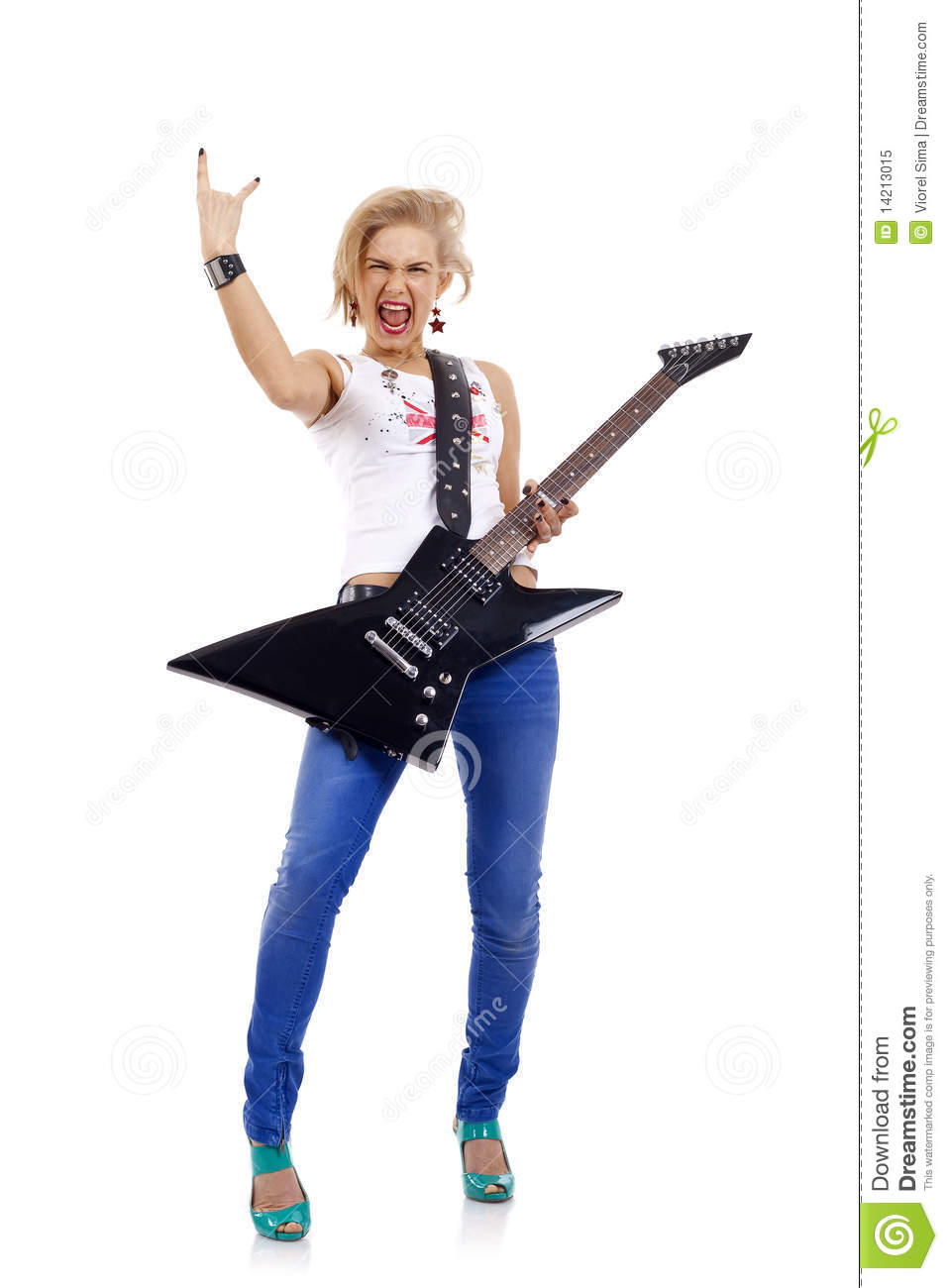 Rock And Roll Royalty Free Stock Photo - Image: 14213015