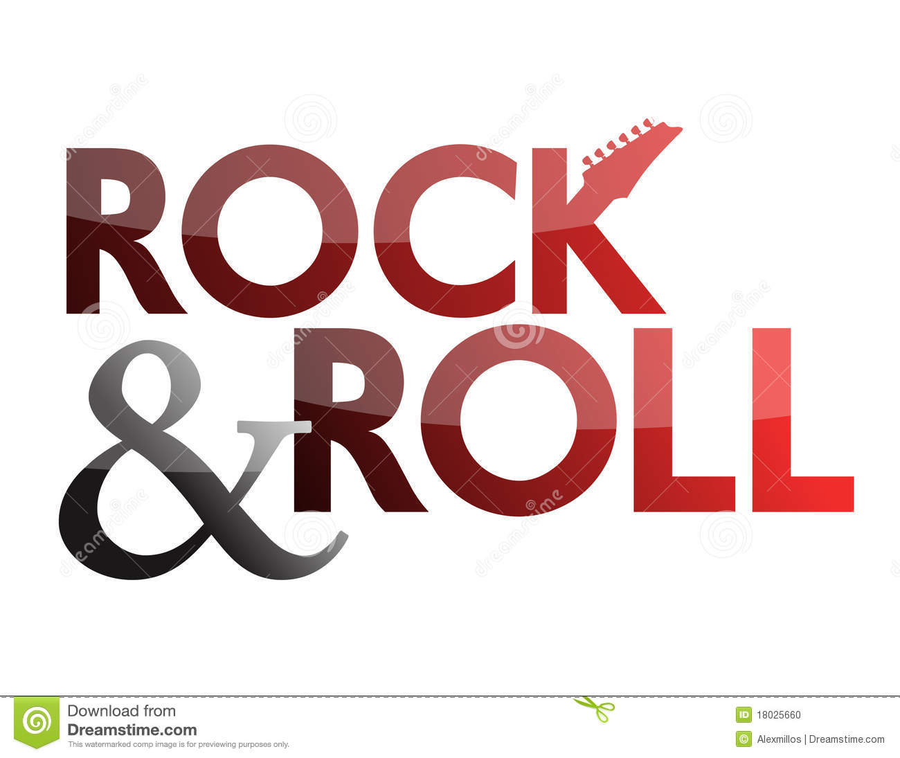 rock and roll stock vector illustration of illustration 18025660