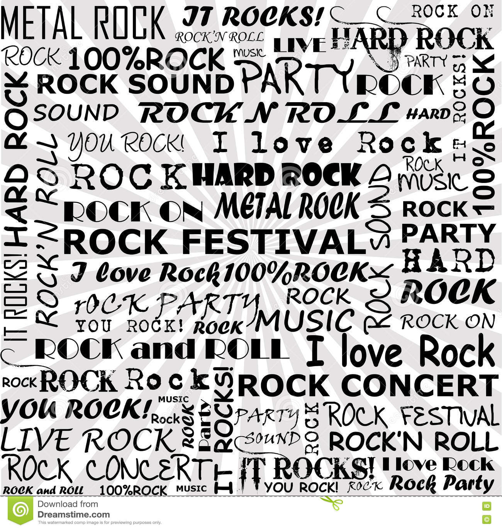 rock n roll terms